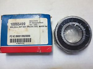 high temperature SKF Explorer 6207 2RSJEM Steel Bearing