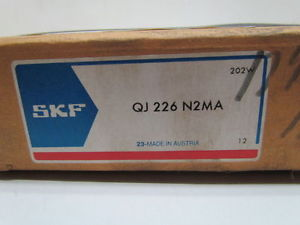 high temperature SKF QJ 226 N2MA 130X230X40MM Open Four Point Angular Contact Bearing