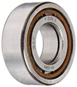 high temperature SKF NUP 2205 ECP Cylindrical Roller Bearing, Single Row, Two Piece, Removable