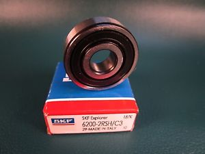 high temperature SKF 6200 2RSH C3 Deep Groove Roller Bearing