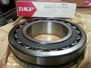 high temperature SKF 22220 CJ/C3W33 SPHERICAL ROLLER BEARINGS