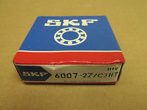 high temperature NIB SKF 60072Z BEARING METAL SHIELD BOTH SIDES 60072ZC3HT 6007 2Z 35x62x14mm