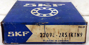 high temperature 1  SKF 2209E-2RS SELF ALIGNING BEARING ***NIB***