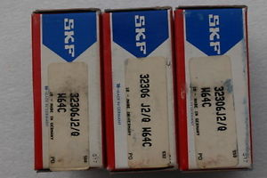 high temperature SKF Tapered Roller Bearings 32306 J2/Q W64C (Lots of 3)