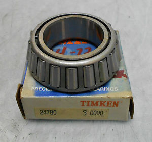 high temperature  Timken Cone Bearing, # 24780,  WARRANTY