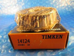 high temperature Timken 14124 Tapered Roller Bearing, Single Cone