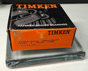 high temperature Timken – HM212049X  – Tapered Roller Bearing