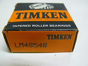 high temperature  TIMKEN LM48548 TAPERED ROLLER BEARING