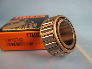 high temperature Timken LM12749 Tapered Roller Bearing Cone