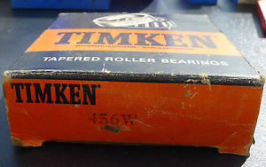 high temperature Timken 456W Tapered Roller Bearing Free Shipping