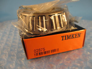 high temperature Timken 02875,Tapered Roller Bearing Single Cone