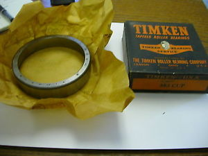 high temperature TIMKEN TAPERED ROLLER BEARING CUP  383 NIB
