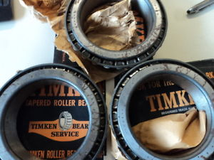 high temperature 52400A TIMKEN  BEARING    WITH SMALL RUST LOT OF 3 EACH NIB  SURPLUS