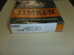 high temperature 48220 Timken Tapered Roller Bearing Cup