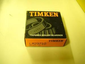 high temperature Timken Tapered Roller Bearings LM29710 New!