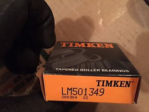 high temperature Timken LM501349 Tapered Roller Bearing Inner Race Assembly