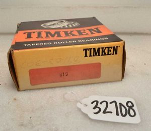 high temperature Timken 619 Tapered Roller Bearing (Inv.32708)