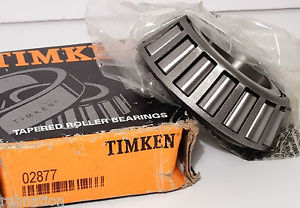 """high temperature 02877 by Timken Tapered Roller Bearing Single Cone Standard Torance 1.375""""ID"""