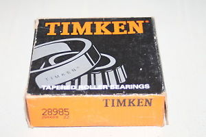 high temperature Timken 28985 Tapered Roller Bearing Single Cone  *  *