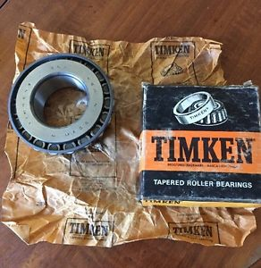 high temperature Timken 762 Roller Bearing Cone. Vintage Old School Quality. USA Made.