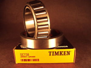 high temperature Timken Set38, Set 38 (LM104949/LM104911) Cup & Cone