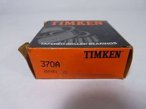 high temperature Timken 370A Tapered Roller Bearing !  !