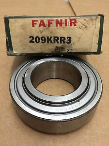 high temperature Timken Fafnir 209KRR3 Bearing 45mm Round Bore X 85mm OD X 27mm Width Double Seal