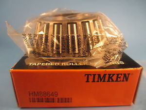 high temperature Timken HM88649 Tapered Roller Bearing Cone