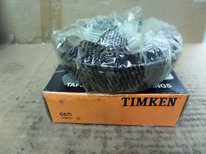 high temperature Timken Tapered Roller Bearing Cone 665 New