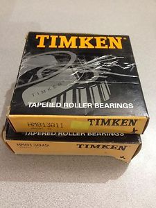 high temperature  TIMKEN TAPERED ROLLER BEARING HM813849 WITH BEARING RACE HM81311