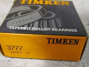high temperature Timken Tapered Roller bearing 3777 Cone NIB