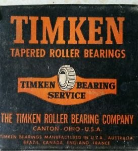 high temperature Vintage Timken Tapered Roller Bearing Cup # 26274 New in box
