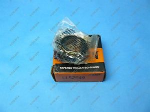high temperature Timken LL52549 Tapered Roller Bearing Cone 0.875 X 0.44 NIB