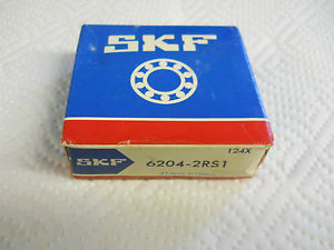 high temperature SKF 6204-2RS1 BALL BEARING 47 X 20 X 14MM 75875 62042RS1  CONDITION IN BOX