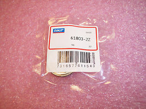 high temperature 61803-2Z SKF BALL BEARINGS 17X26X5…FREE SHIPPING