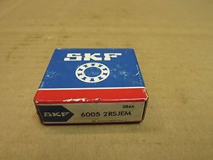 high temperature NIB SKF 6005 2RS JEM BEARING RUBBER SEALED 60052RSJEM 60052RS 25x47x12 mm