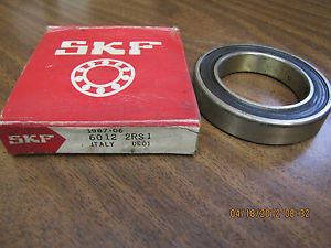 high temperature  SKF BALL BEARING 6012 2RS1 60122RS1 HT 51