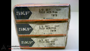 high temperature SKF 7010 ACD/P4A – PACK OF 3 – SUPER PRECISION BEARINGS,  #173218