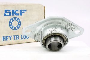 high temperature SKF Bearing HFYTB100 25mm Stamped steel oval two bolt Flanged Mounted Bearings