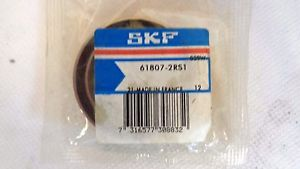 high temperature  IN FACTORY PACKAGE SKF 61807-2RS1 SEALED BALL BEARING 35MM ID 47MM OD 7MM W