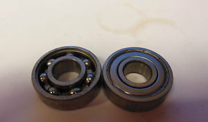 high temperature (2) SKF Deep Groove Roller Bearing 6000-Z/C3 6000ZC3 Lot of 2 New