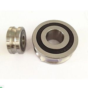 high temperature 1pc  LFR5201NPP-12 U Groove 12*35*15.9mm Sealed Ball Track Guide Bearing