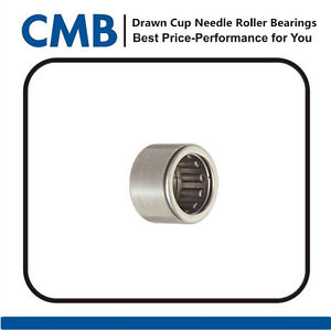high temperature 2PCS BK1210 12x16x10mm Closed End Drawn Cup Needle Roller Bearing