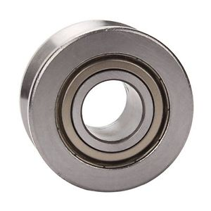 high temperature Silver V groove guide Wheel bearing Sliding Door Guide Roller Bearing