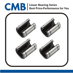 high temperature 4pcs LM10UUOP 10mm Open Linear Ball Bearing Brand New