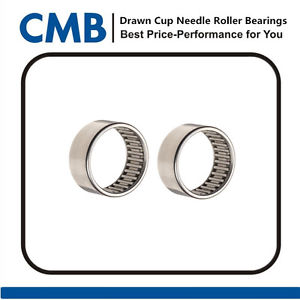 high temperature 4PCS HK2220 Drawn Cup Needle Roller Bearing Bearings 22x28x20mm