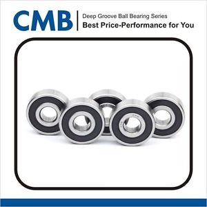 high temperature 6205-2rs Rubber Sealed Bearing Bearings 25x52x15 mm