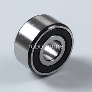 high temperature 5201-2RS plastic cover sealDouble row angular contact bearings 12mm * 32 mm* 15