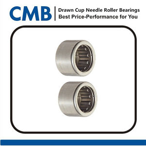 high temperature 4PCS BK1212 Closed End Drawn Cup Needle Roller Bearing 12x18x12mm