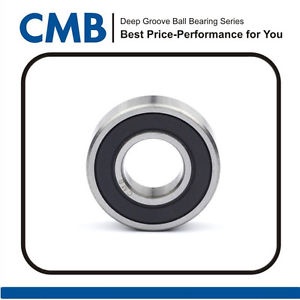high temperature Ball Bearing 63/28-2RS 28x68x18mm Double Rubber Sealed Ball Bearings